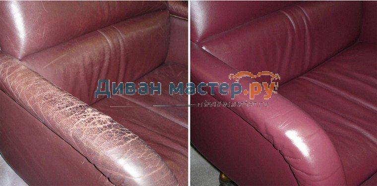 Как заклеить кожаный диван в домашних условиях