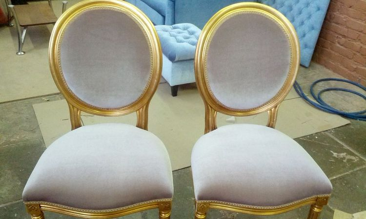 Как поменять обивку на стул своими руками 18